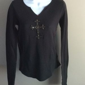 Lucky Brand Long Sleeved Thermal with Cross